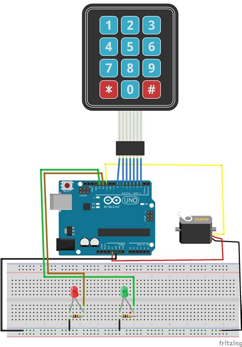 tutorial arduino keypad no 4 keypad lock