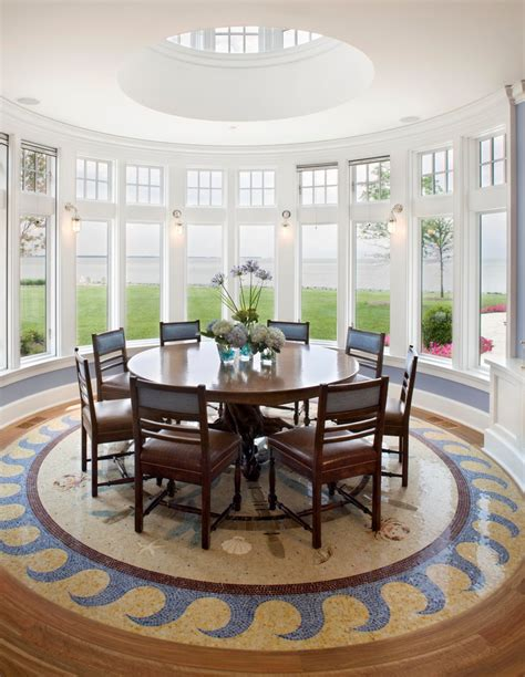Circular Dining Room Tables Houses And Circular Interior Style