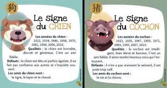 Calendrier Zodiaque Chinois Votre Signe Du Zodiaque Chinois Sur Hugolescargot
