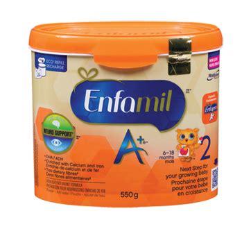 Enfamil A 2 enfamil a 2 tub 550 g enfamil a 2 formula jean coutu