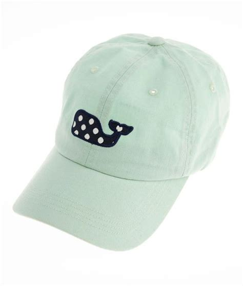 womens hats polka dot whale baseball hat vineyard