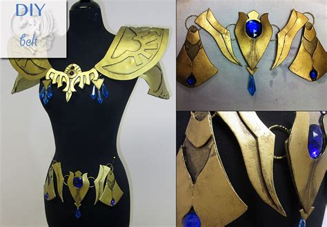 zelda belt pattern diy princess zelda armor by firefly path on deviantart
