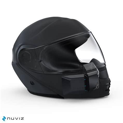 nuviz hud nuviz hud puts the world on your helmet visor w
