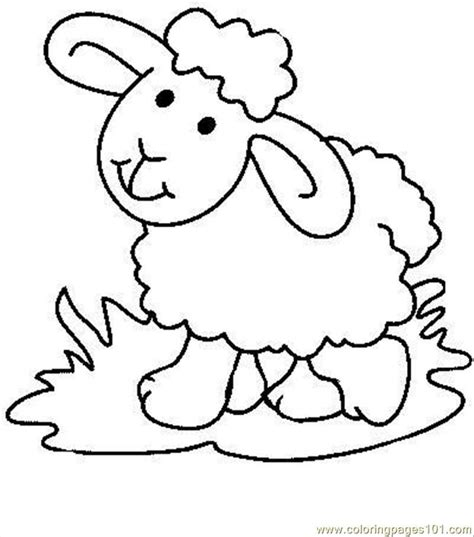 cute lamb coloring pages sheep7 coloring page free sheep coloring pages