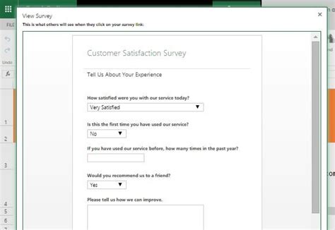 Customer Satisfaction Survey Template For Excel Your Customer Template