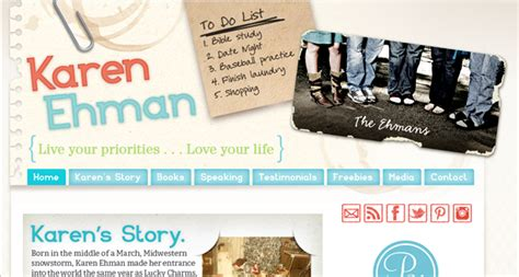 What Makes A Author Website by What Makes A Christian Author Website 13 Exles Of