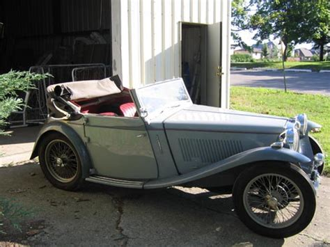 For Sale Ta 1938 Mg Ta Tickford For Sale Classic Car Show