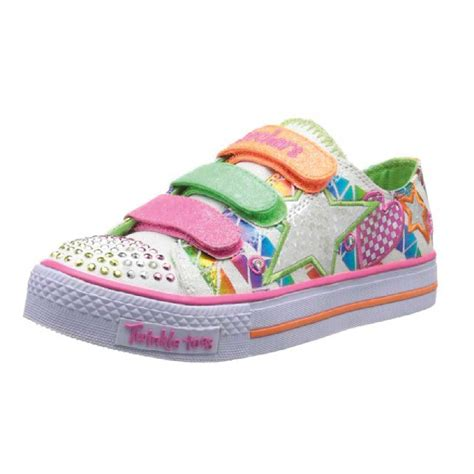 skechers twinkle toes sassy sneaker with