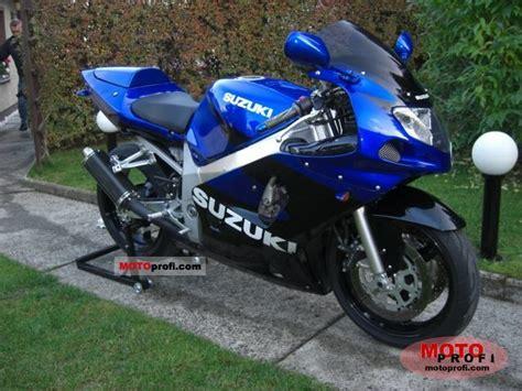 2002 Suzuki Gsx R600 Suzuki Gsx R 600 2002 Specs And Photos