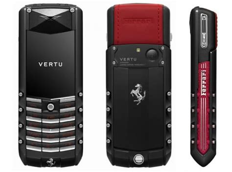 vertu phone ferrari the vertu ascent ferrari gt is as as the car