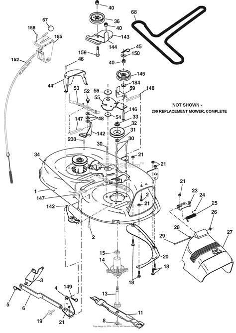 deck diagram ariens 42 inch belt diagram wiring library