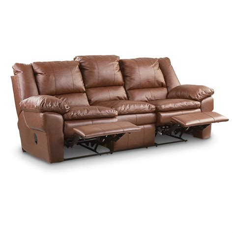 double rocker recliner leather rocker recliner brown 166915 living room at
