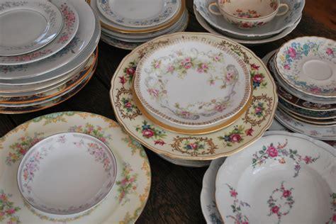 vintage china vintage china used at weddings rustic wedding chic