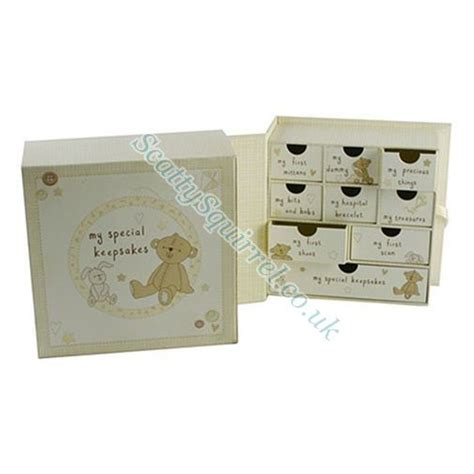 Baby Keepsake Box With Drawers by Special Baby Keepsake Drawers In Box