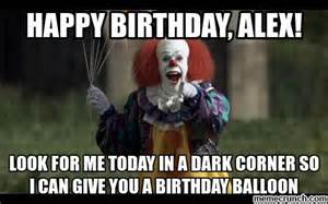 Alex Meme - happy birthday alex
