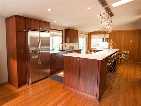 Galley Kitchen With Island Small Galley Kitchen Ideas Pictures Tips From Hgtv Hgtv For Small Galley Kitchen With