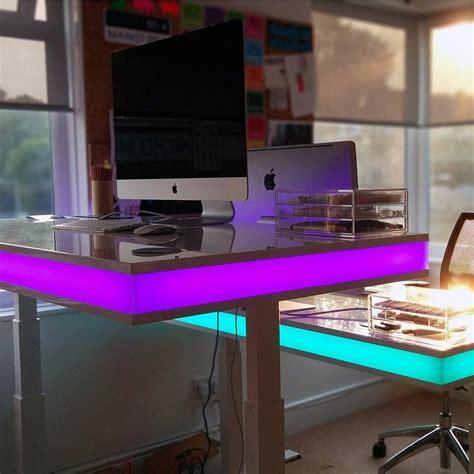 tech computer desk fancy tableair interactive desk
