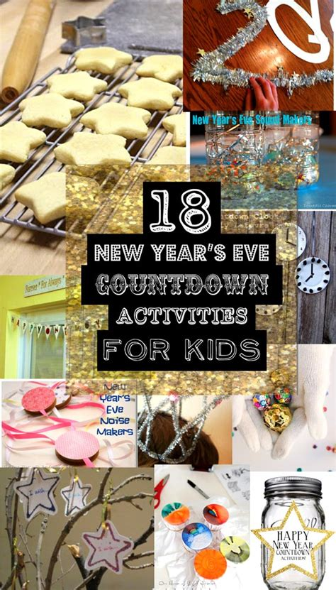 new year activities for youth new year s countdown activities for sohosonnet