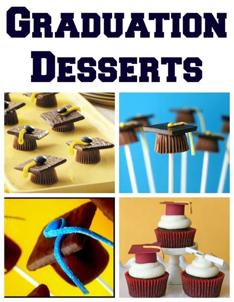 Come With Me Graduation Menu Dessert by Graduation Treat Ideas