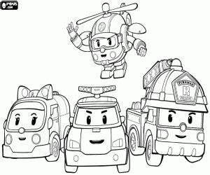 robocar poli coloring pages games robocar poli coloring pages printable games