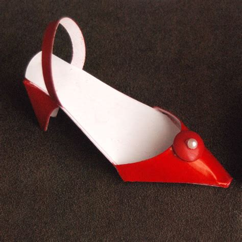 Paper Shoe Craft - paper shoes craft ideas