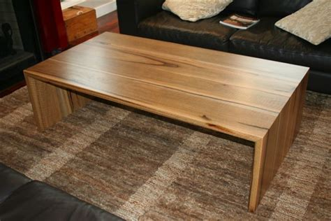 Wood Table Bench Marri Timber Coffee Table Christian Cole Furniture