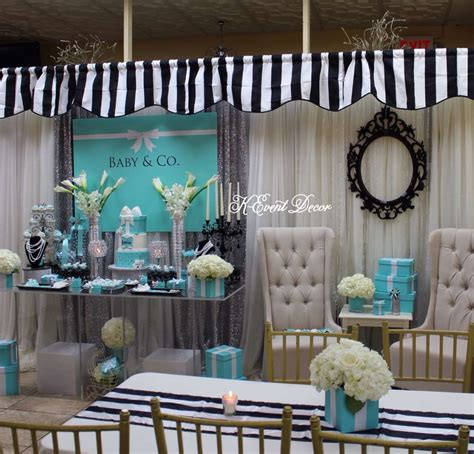 And Co Decorations by Themed Baby Shower Table Decoration Ideas