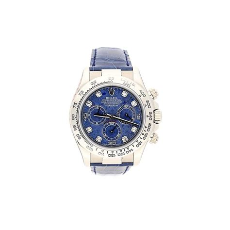 pre owned 18ct white gold rolex cosmograph daytona 116519