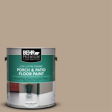 behr premium 1 gal pfc 63 slate gray low lustre porch and patio floor paint 669501 the home