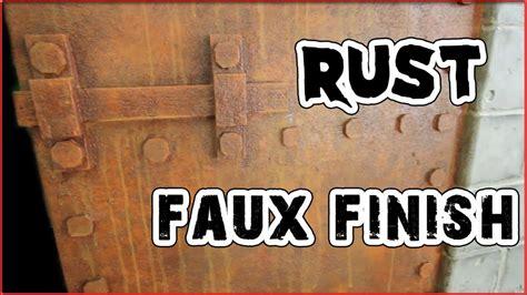 faux rust spray paint haunt ventures 165 rust faux finish