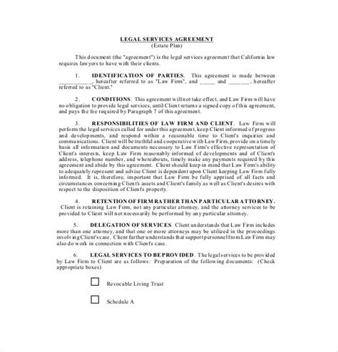 15 service agreement templates free sle exle