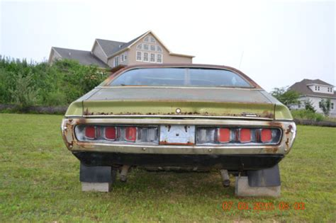 1971 dodge charger 500 factory sunroof classic dodge