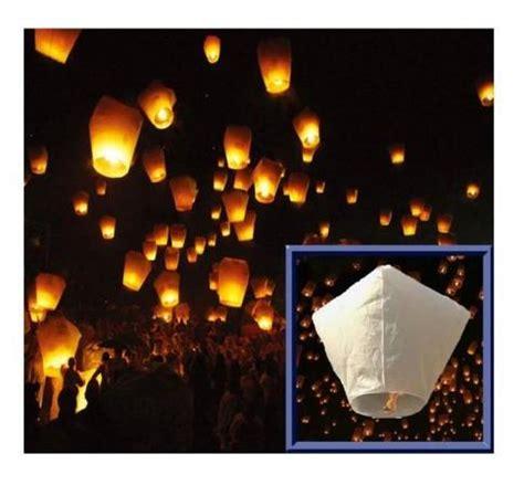 lanterna cinese volante addobbi per feste lanterne volanti sky lantern