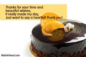 Thanks for your time and beautiful thank you for the birthday wish