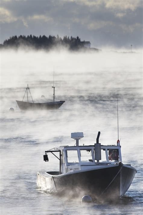 sea smoke sea smoke on rockport harbor maine pinterest