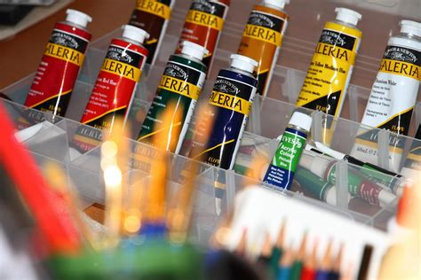acrylic paint and supplies supplies shopping list for acrylic painting