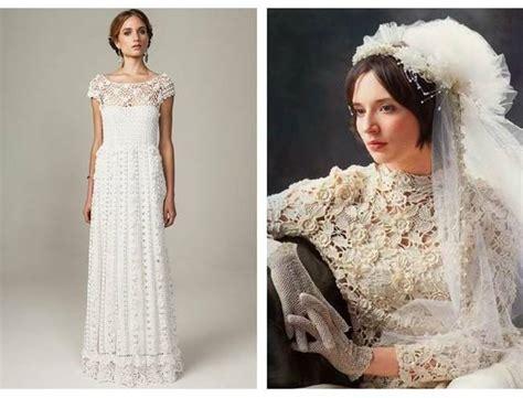 pattern crochet wedding dress image from http sweetvioletbride com wp content uploads