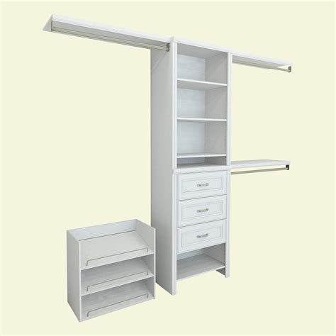 closetmaid selectives 83 in h closetmaid impressions 14 57 in d x 120 in w x 83 in h