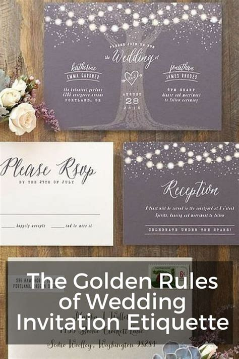 Wedding Etiquette by The Golden Of Wedding Invitation Etiquette Wording