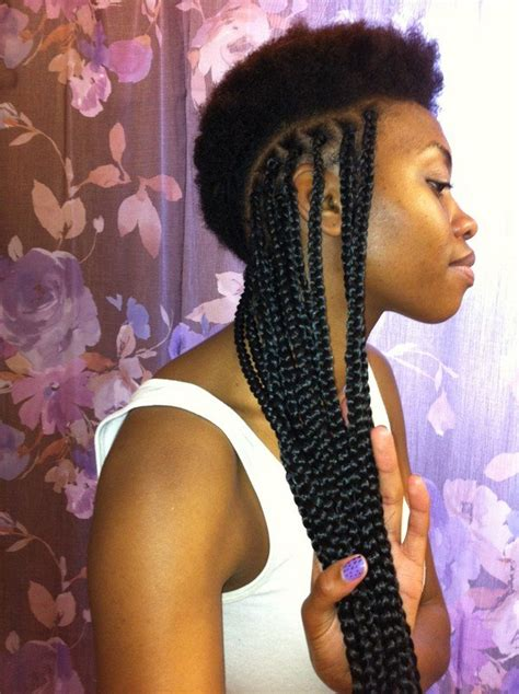 how to part hair for boxed braids 55 of the most beautiful jumbo box braids to inspire your