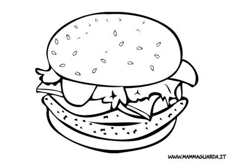 disegni da colorare alimenti mammaguarda cibi da colorare