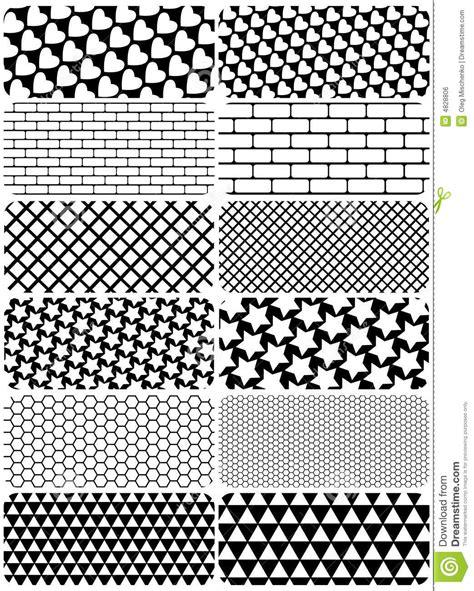 Vorlagen Grafische Muster Vektorset Grafische Muster Lizenzfreies Stockbild Bild 4828806
