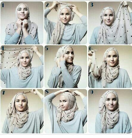 tutorial hijab pashmina monochrome simple shawl tutorial hijab tutorial pinterest hijabs