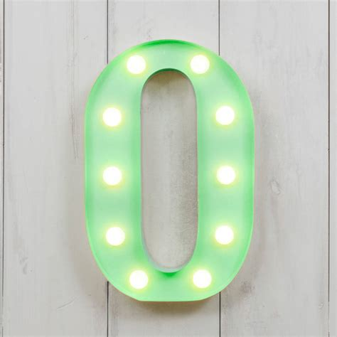 vegas metal led circus letter light a by all things
