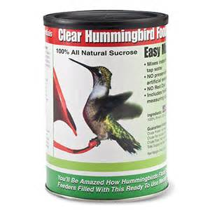 hummingbird food and nectar