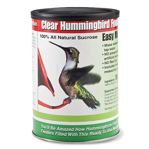 duncraft com clear hummingbird food