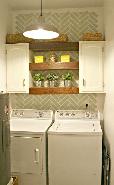 hometalk  laundry room decor ideas  shelves