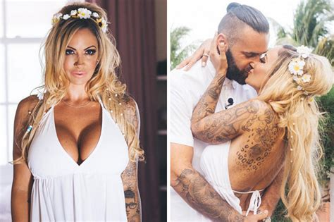 Dress Jodie jodie marsh s spill out of wedding dress daily