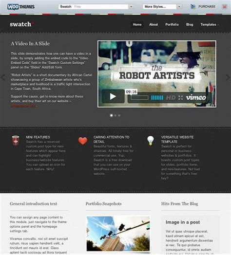 theme wordpress xenon 20 fresh and amazing free wordpress themes