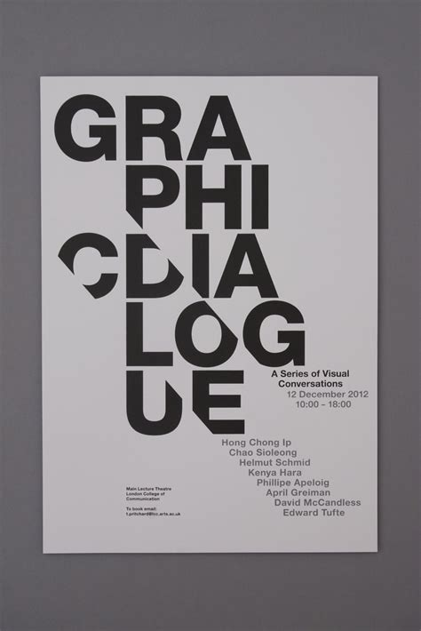 typography in how to be at graphic design tony pritchard s